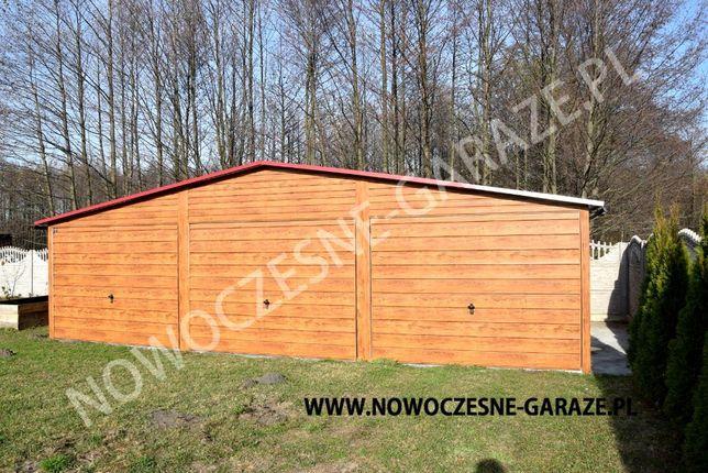 Garaż blaszany drewnopodobny imitacja drewna nowość Wrocław - image 4