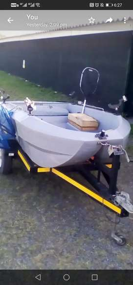 Two Seater Fishing Boat