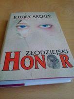 """Jeffrey Archer - """"Złodziejski honor"""" nowa"""