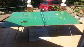 TABLE TENNIS TABLE COMPLETE