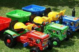 Duży traktor na pedały dla Dzieci traktorek