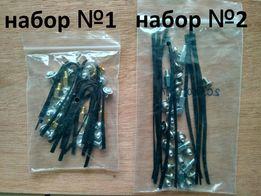 комплекты винтов Codegen или Delux + стяжки для проводов Twist Tie
