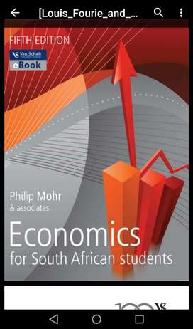 Economics for SA students 5th editions
