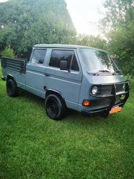 1985 Vw Double cab Transporter. Ford V6 conversion.