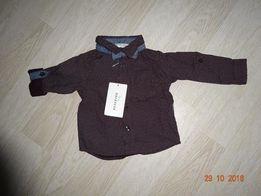 NOWA koszula RESERVED baby , r. 68, z Muszką