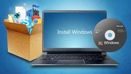 Установка Windows, Ремонт компьютеров и ноутбуков, чистка от пыли
