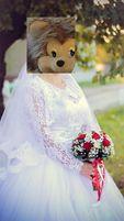 Весільна сукня + болеро