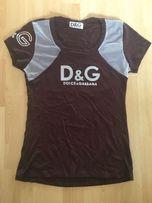 Bluzka bluzeczka Dolce & Gabbana D&G S M logowana ciekawy design