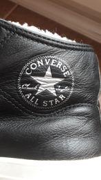 Buty skorzane converse na zime z korzuchem rozm 37.5