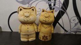 Сувениры. Подарки. Ручная работа. Котики. Изделия из дерева