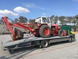 Transport wózków widłowych traktorów autolaweta ładowność do 7 ton.
