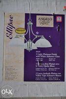Żyrandol/lampa wisząca 3 ramienny