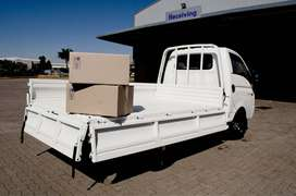 Truck for hire for removals & cartage
