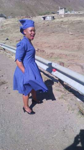 Lesotho maid/nanny with refs needs stay in or out work.