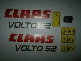 Naklejki Claas Volto 52