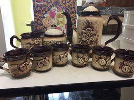 Керемическая посуда подарочный набор кофейный