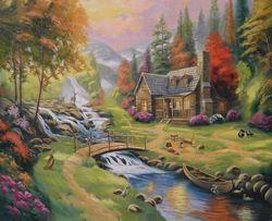 Художник, нарисую картины на заказ маслом