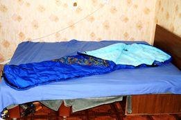 Спальник Кокон мешок с капюшоном