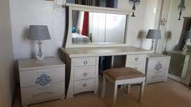 Complete Dressing Table Set.