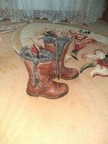 Демісезонні сапожки 25 р. Черевики, ботінки, чобітки