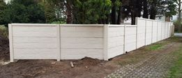 Dwustronne ogrodzenia betonowe Bluszczów !!!Nowy Wzór!!!