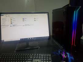 Core i7-4765T 2.00GHz ,8GB RAM, HDD 500GB,SSD 128GB, Gaming case with