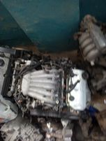 Двигатель АКПП на Mitsubishi Galant 97г.v6 2.5 клима.
