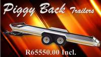Image of Trailer Double Axle Car Trailer