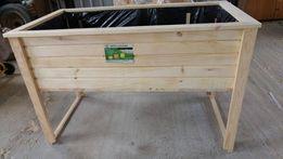 Donica drewniana duża skrzynia ogrodowa dl 120 Każdy wymiar Doniczka
