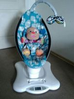 Кресло-качалка Mamaroo, цвет Plush Blue (4moms)