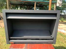 Fireplace Jetmaster built in