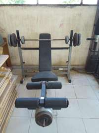 Image of Weight bench press