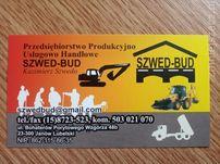 Usługi budowlane/ koparka/ ładowarka/ spych/ równiarka/ wywrotki.