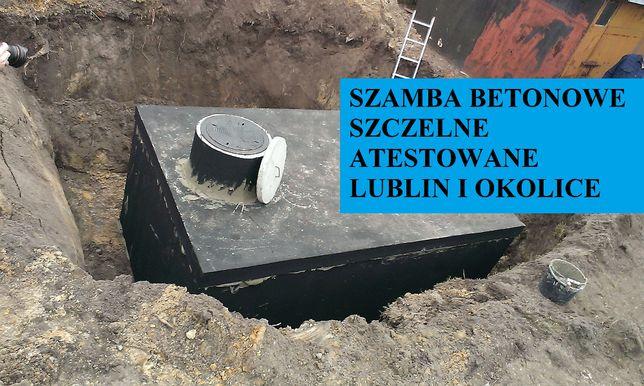 szambo szamba betonowe 10m3 i inne zbiorniki na ścieki Lublin 4 - 12m3 Lublin - image 1