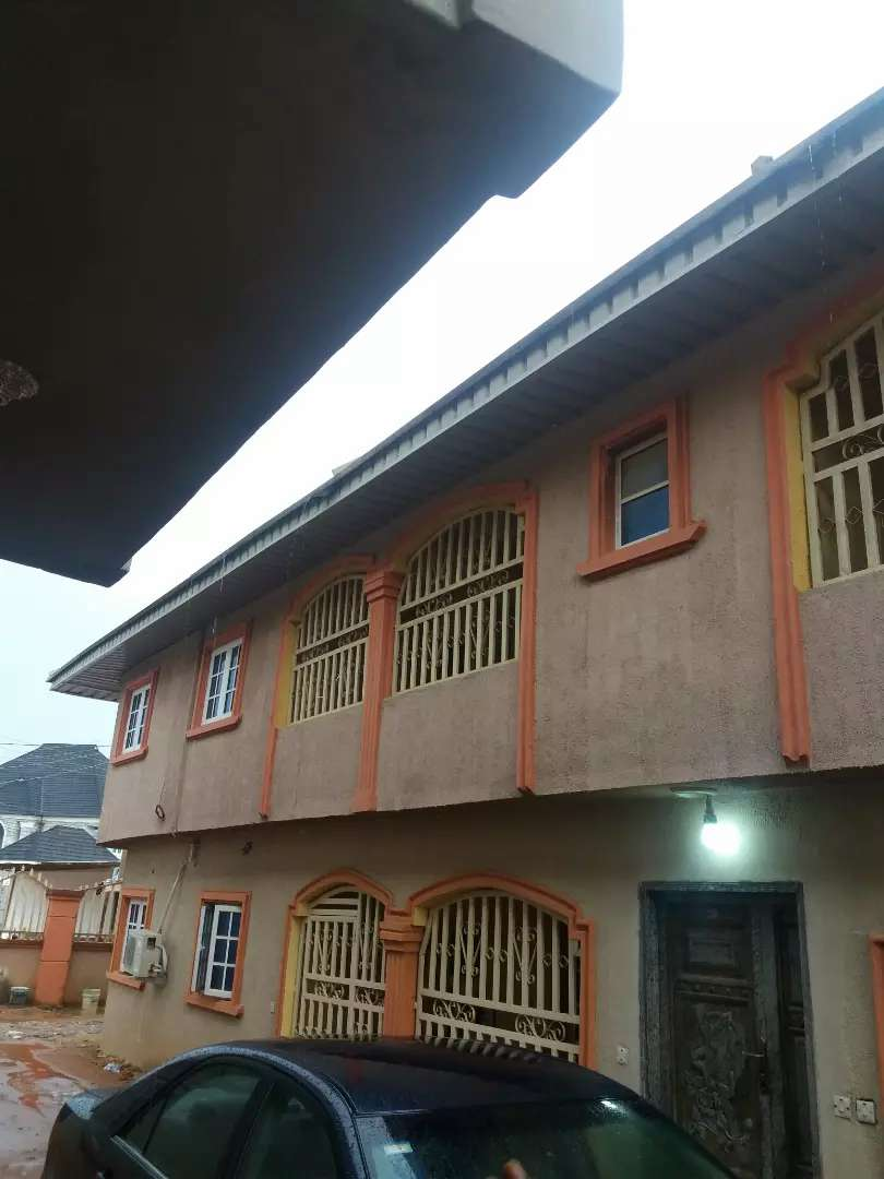 A bedroom flat To rent at Mtn mask road off sapele road Benin city 0