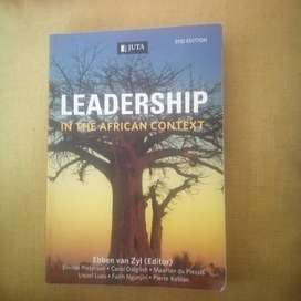 Leadership In The African Context 2ND Edition
