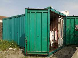 Use and equip containers for saloon