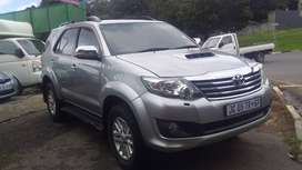 2015 Model Toyota Fortuner 3.0 D4D automatic