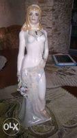 Редкая коллекционная статуэтка времена года , Коростенский фарфор