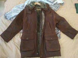 Куртка кожаная, муж., идеальная Italy дешево