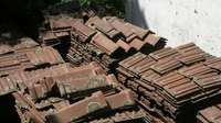 Image of Marseilles roof tiles and ridg