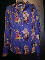 Bluzka kolorowa boho etno folk louise della