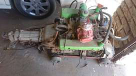 Rover v8 engine and gearbox