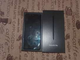 Samsung Note 10 Lite and cover