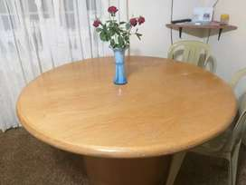 Round 8 Seater Wooden Table