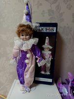 Фарфоровая кукла Клоун