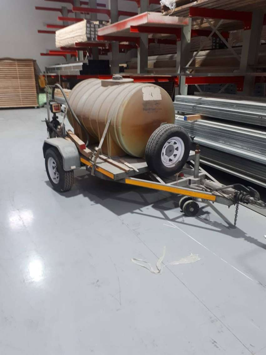 Steelcraft S2 Trailer with Diesel Tank for sale 0