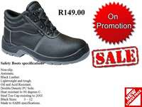 Safety Boots, Safety Shoes,Conti Suit Overalls, Golf Shirts, T-Shirts for sale  South Africa