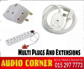 Multiplugs And Extensions From R15 twinplug
