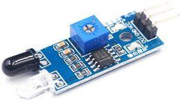 Оптичний ІЧ датчик обходу перешкод, LM393